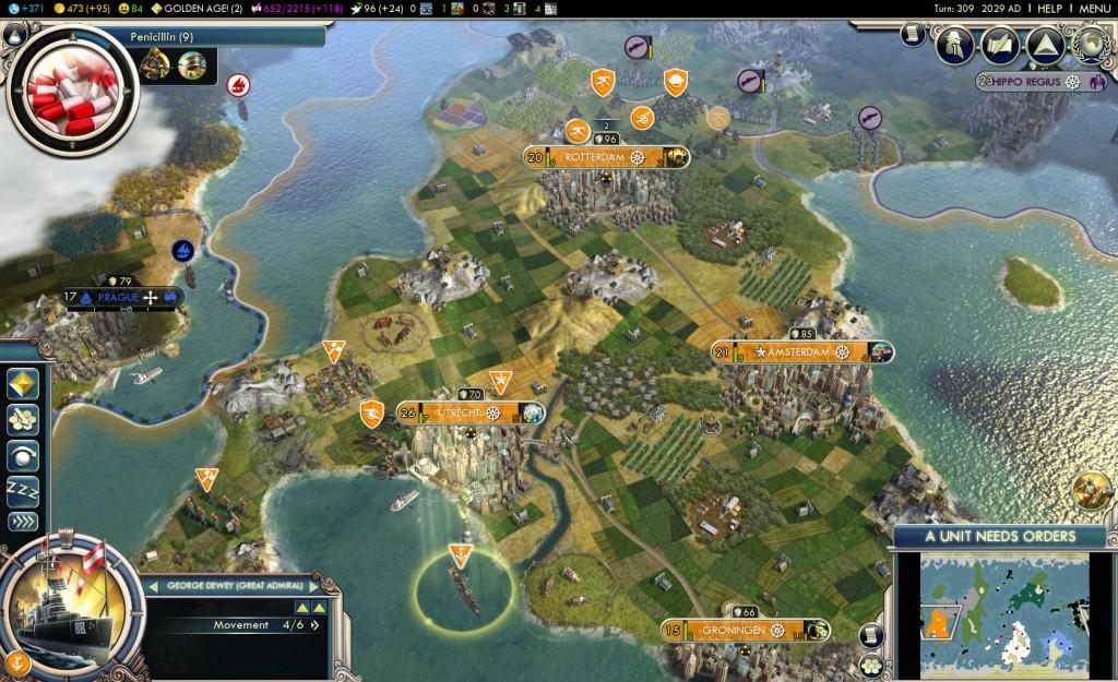 Zo had Nederland eruit kunnen zien volgens Civilization
