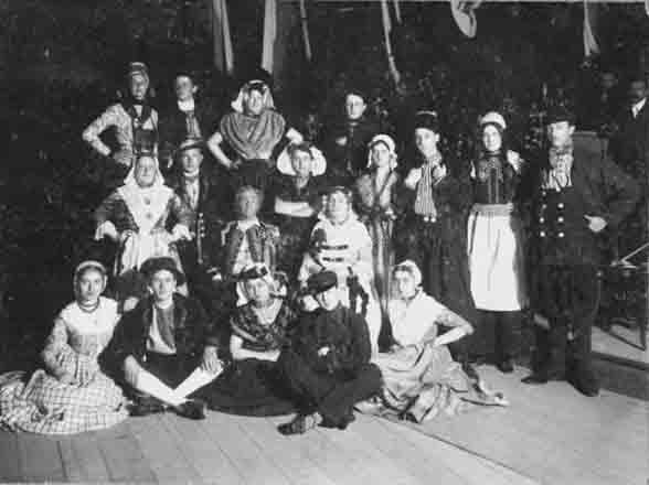 Hollandse folklore bij de wereldbond