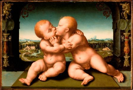 Kissing babies: Saintly or sexual?